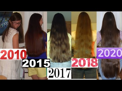 ♥Hair GROWTH Time Lapse | 10 YEARS of GROWTH!!!♥