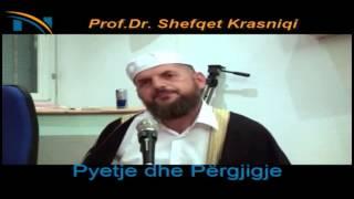 A egzistojn medh'hebet sipas Islamit - Hoxhë Shefqet Krasniqi