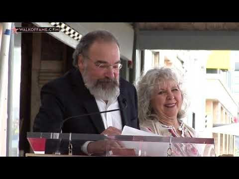 Mandy Patinkin Walk of Fame Ceremony