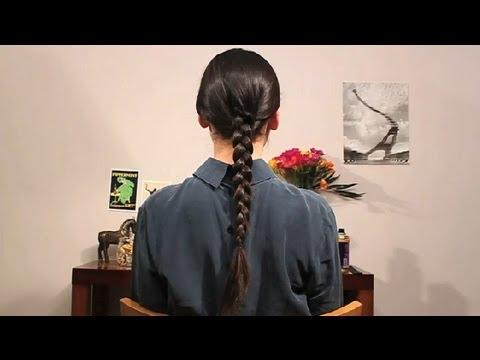 Cómo hacer una trenza básica : Peinados con trenzas