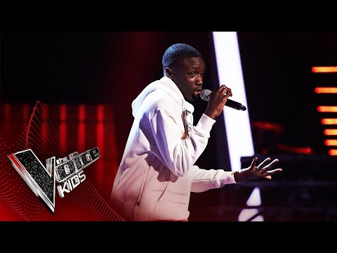 Amos Performs 'No Violence' | The Semi-Final | The Voice Kids UK 2020