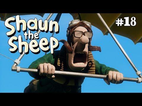 Shaun the Sheep - Hang Glider (видео)
