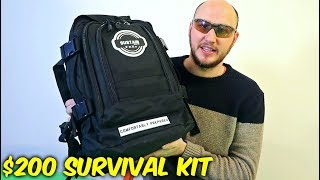 $200 Mystery Survival Backpack