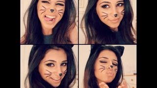 Cat Halloween Makeup Tutorial!