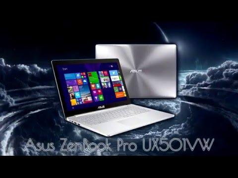 Asus ZenBook Pro UX501VW unboxing / kicsomagolás