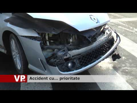 Accident cu… prioritate