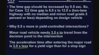 Lecture - 13 Intersection Sight Distance - II