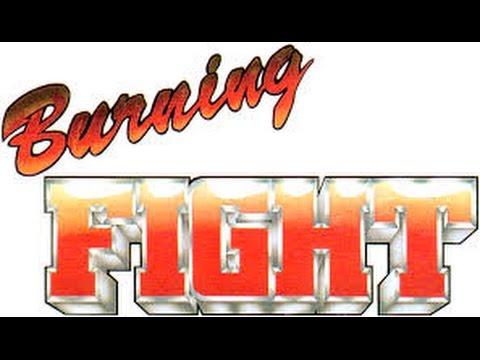 test burning fight neo geo