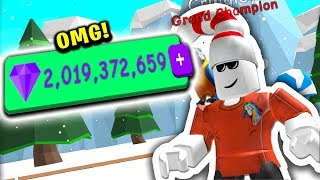 I Now Have 2 BILLION GEMS (Roblox Bubble Gum Simulator)