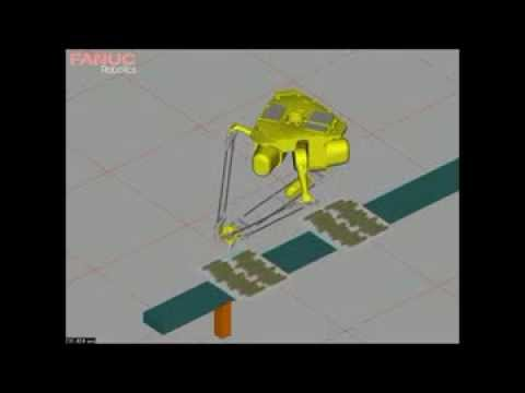 FANUC Robotic scoring sim w/ ultrasonic head, triplecut x264