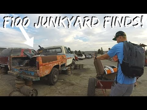 , title : 'Finding Parts For My F100 In a Junkyard!'