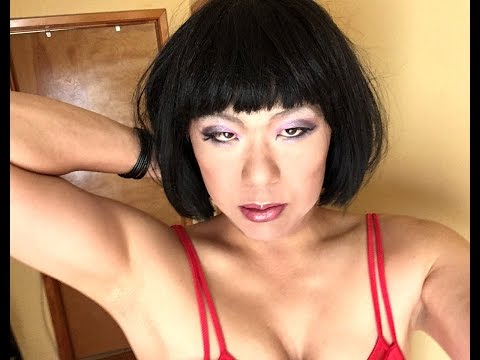 Chinadoll Vena TG (TS/Shemale/TV/CD/Ladyboy) in a Tight Red Dress (видео)