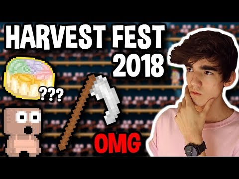 HARVEST FEST 2018 [1000+ RARE TREES] | Growtopia (видео)
