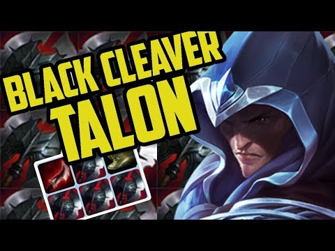 BLACK CLEAVERS TALON?- Ranked Journey (Pre-Season 8 League of Legends)