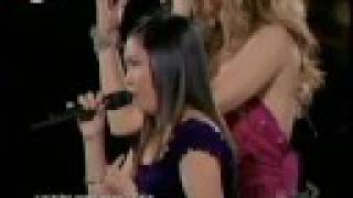 """Video Charice duet with Celine Dion """"Because You Loved Me"""" at Madison Square Garden September 15, 2008 (HQ) (dts) MP3, 3GP, MP4, WEBM, AVI, FLV Juli 2018"""