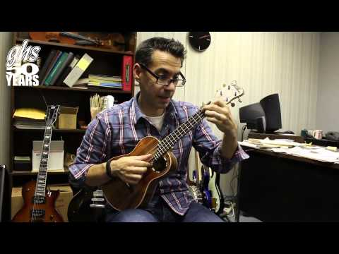 GHS Strings - Hilton Guitars Prototype Ukulele