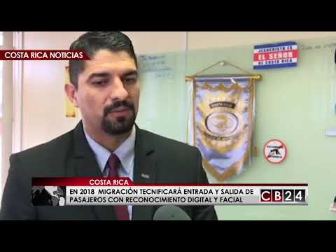 Migración contará con tecnología facial para entrada y salida de personas en Costa Rica
