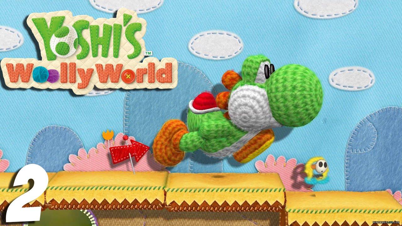 El primer boss – YOSHI WOOLY WORLD – Ep 2