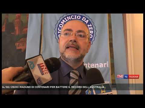 14/02/2020 | RADUNO DI CENTENARI PER BATTERE IL RECORD DELL'AUSTRALIA