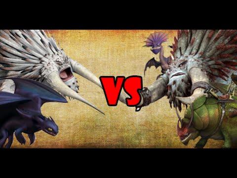 How To Train Your Dragon 2 - Tournament Battle 1 | SPORE