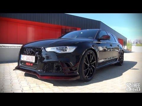 ABT - The ABT RS6-R is based on the Audi RS6 with power raised to 730hp and torque to 920Nm. On the outside there's a raft of modifications including rather specia...