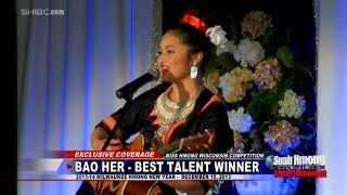 Suab Hmong E-News:  Npauj Hawj won Best Talent at Miss Hmong Wisconsin 2014 competition