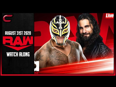 WWE RAW August 31st 2020 Live Stream: Live Reaction Conman167 Full Show Watch Along