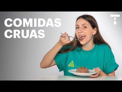 LIZ PROVA COMIDAS CRUAS | Liz Pede Bis