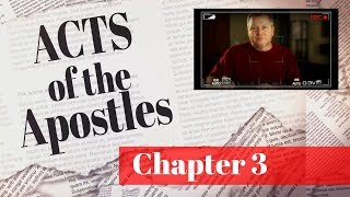 Video The Book Of Acts Bible Study Guide - Acts 3 Sermon - Lame Man Healed MP3, 3GP, MP4, WEBM, AVI, FLV November 2017