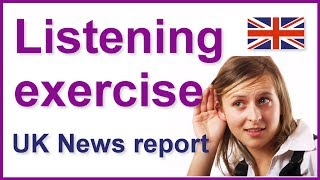 Legal highs news report, English listening exercise