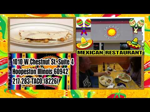 La Casa del Sol  Mexican Restaurant in Hoopeston  Illinois
