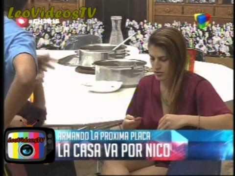Romina Marian Belu y Nico enrrollados en la proxima nominacion GH 2015 #GH2015 #GranHermano