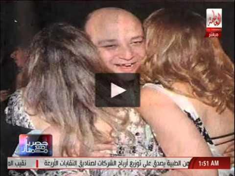 مرتضى منصور يعرض صورا اعتبرها فاضحة لعمرو أديب
