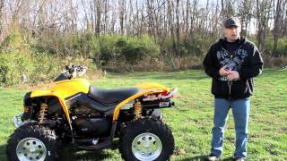 9. HMF Pipe on Can-Am Renegade 800