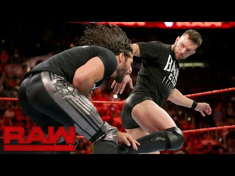 Finn Bálor silences Seth Rollins: Raw, Aug. 1, 2016