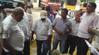 Sangli India  City pictures : Turmeric trading in sangli, India