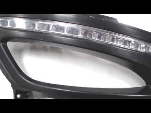 iJDMTOY Exact Fit 12-LED Daytime Running Lights for the 2011+ Kia Optima