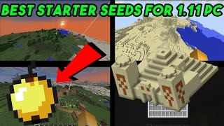 We have showcased some first of my 4 seeds I think would be great for survival! on your first worlds with 1.11 PC so I hope you all enjoy although I rarely do seed showcases but if you want more be sure to subscribe and thumbs up and if you have any other seeds in mind let me know and you might get featured next seed showcase! Seeds: #1= -416485715305405787 -About in this world -It haves a great spawn area with villages desert temple at spawn and many more! with open caves#2= -1577367544853716-About in this world- Flat lands with a village about 100 blocks or more close to spawn! #3= -6519036797598531813In this seed there is a stranded village on a island with a ocean temple with a lot of islands and adventure to be found! #4= -7498288101626336680In this seed there is villages and ocean temples! and many more ★ Follow Me on Twitter for latest Updates!-  https://twitter.com/RealRedXGamer★ Follow Me on Instagram to see my adventures!- https://www.instagram.com/realredxgamerhd_/?hl=en★Donate To Me For More Content! https://www.paypal.com/cgi-bin/webscr?cmd=_s-xclick&hosted_button_id=ABJ655UETK6KW