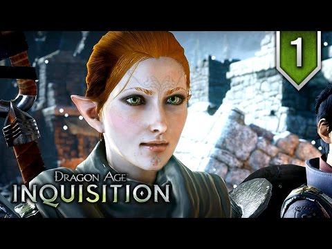 Dragon Age: Inquisition – Episode 1 ★ Movie Series / All Cutscenes 【Elven Female Mage Edition】