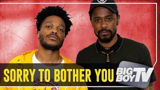 Video Lakeith Stanfield & Jermaine Fowler on ''Sorry To Bother You', Atlanta & A Lot More! MP3, 3GP, MP4, WEBM, AVI, FLV November 2018