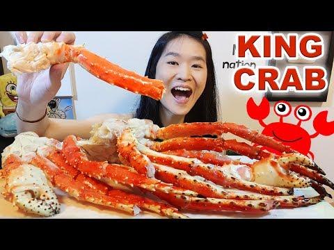 Alaskan King Crab Legs!! Seafood Mukbang Eating Show w/ Eating Sounds - Thời lượng: 35 phút.