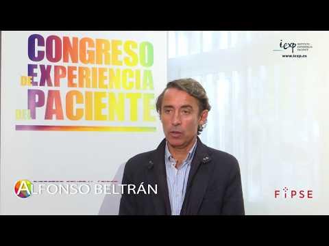 Alfonso Beltrán, en el II Congreso de Experiencia del Paciente