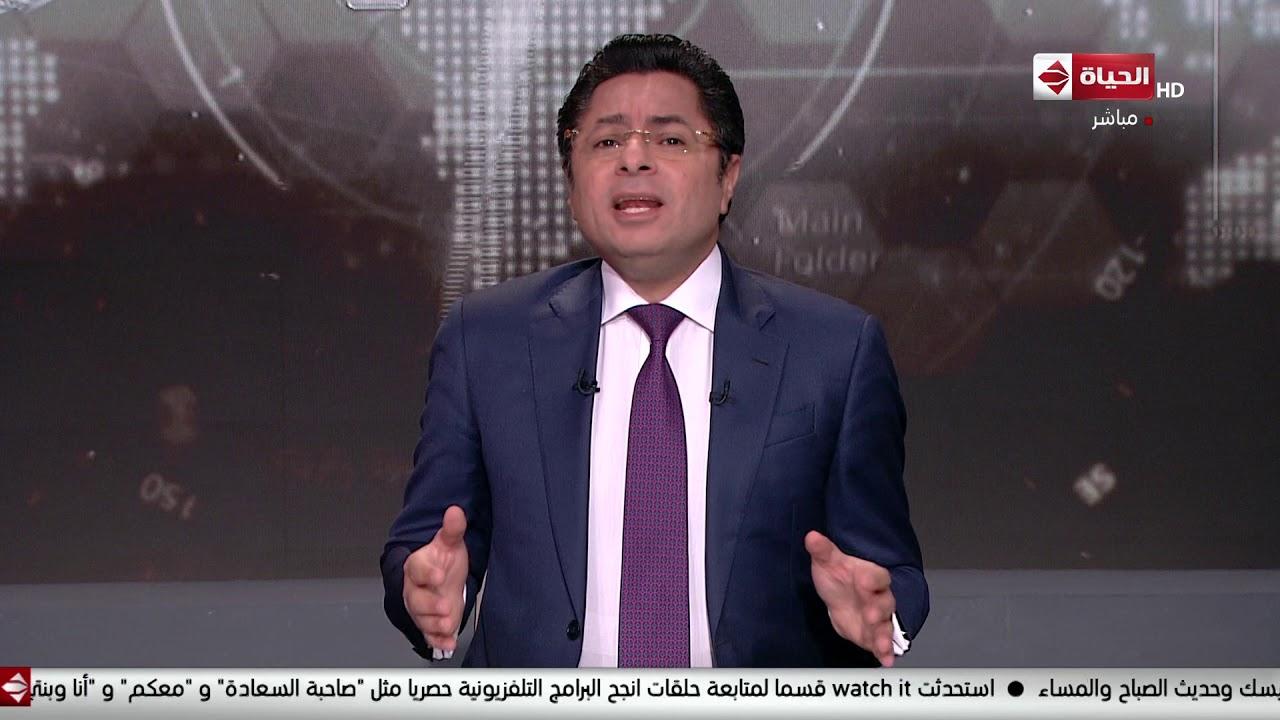 انتقال الإعلامي خالد أبو بكر إلى إحدى قنوات المجموعة بعد نجاحه في تقديم برنامج (الحياة اليوم)