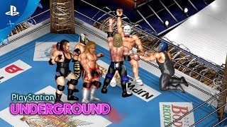 Fire Pro Wrestling World - PS4 Gameplay | PS Underground