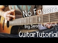 No Favors Guitar Tutorial by Big Sean // Big Sean & Eminem Guitar Lesson!