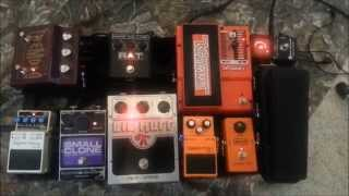 My Pedalboard with Demo 6/19/15