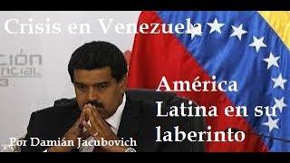 por Damián Jacubovich, analista internacional y geopolitólogo contacto damian.jacubovich@yahoo.fr El drama de Venezuela y la...