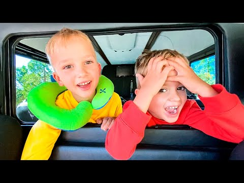 Are We There Yet? Song for Kids with Vlad and Nikita Family