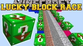 Minecraft: DEADLY SKY ISLAND LUCKY BLOCK RACE - Lucky Block Mod - Modded Mini-Game by PopularMMOs