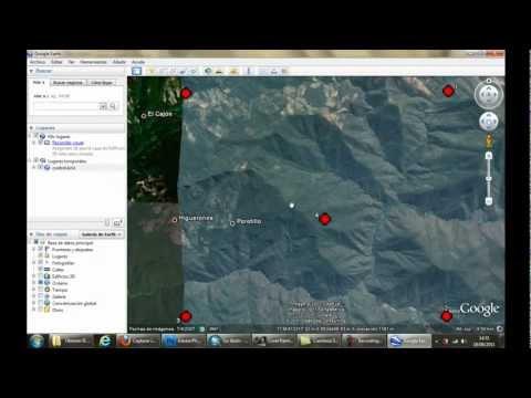 Insertar imágenes de Google Earth en ArcGIS
